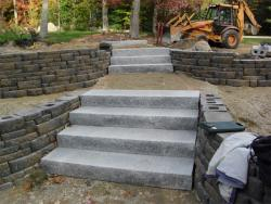 Wall, Steps & Front Walk