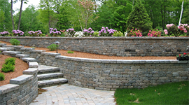 Walkways, Stone Walls, Retaining Walls & Patios